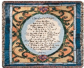 Lord's Prayer Throw in Martinsville IN, Flowers By Dewey