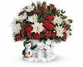 Send a Hug Deck The Igloo by Teleflora in Kalamazoo MI, Ambati Flowers
