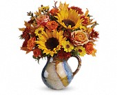 Teleflora's Glaze Of Glory Bouquet in Ammon ID, Petal Passion