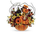 Teleflora's Haunted House Bouquet in Winnipeg MB, Hi-Way Florists, Ltd
