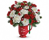 Teleflora's Merry Mug Bouquet in Houston TX, Clear Lake Flowers & Gifts