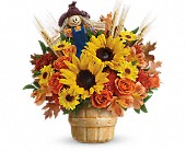Teleflora's Smiling Scarecrow Bouquet in Cornwall ON, Blooms