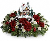 Thomas Kinkade's Meet Me Under The Mistletoe in Cornwall ON, Blooms