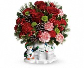 Send a Hug Christmas Cutie by Teleflora in Auburn, Indiana, The Sprinkling Can