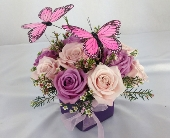 BUTTERFLY ROSES by Rubrums in Ossining NY, Rubrums Florist Ltd.