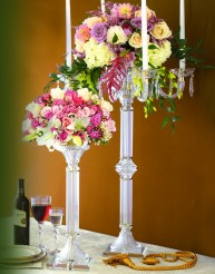 crystal table stand in Staten Island NY, Eltingville Florist Inc.