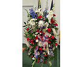 Patriotic Tribute in Fincastle VA, Cahoon's Florist and Gifts