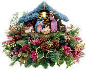 Teleflora's Thomas Kinkade Nativity Bouquet in New Britain CT, Weber's Nursery & Florist, Inc.