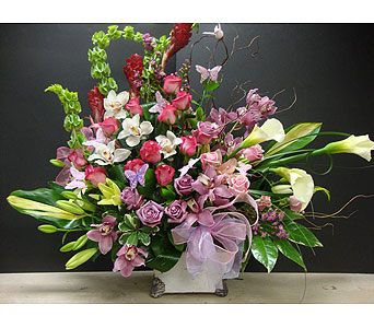 Sympathy Arrangement in Maple ON, Jennifer's Flowers & Gifts