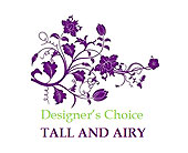 Designer�s Choice � Tall and Airy in Kirkland WA, Fena Flowers, Inc.