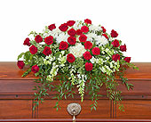 Enduring Strength Casket Spray in Bradenton FL, Florist of Lakewood Ranch