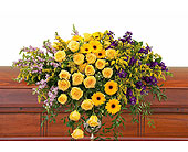 Vivid Memories Casket Spray in Bradenton FL, Florist of Lakewood Ranch