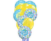 It's a Boy Mylar Balloon Bouquet in Smyrna GA, Floral Creations Florist