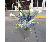 The Grand Blue Ice and White in Smyrna GA, Floral Creations Florist