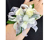 Orchid and rose Corsage in Redmond WA, Bear Creek Florist