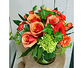 Orange Crush Arrangement in Redmond WA, Bear Creek Florist