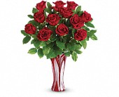 I Adore You Bouquet by Teleflora in Watertown NY, Sherwood Florist