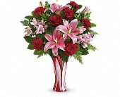Teleflora's Rose Nouveau Bouquet in Maple ON, Jennifer's Flowers & Gifts