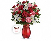 Teleflora's Sweet Embrace Bouquet in Kalamazoo MI, Ambati Flowers