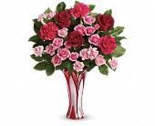 Teleflora's Swirls Of Love Bouquet in Traverse City MI, Cherryland Floral & Gifts, Inc.