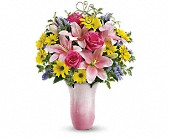 Teleflora's Pretty Petal Bouquet in Ajax ON, Reed's Florist Ltd