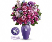 Teleflora's Roses And Butterflies Bouquet in Prince George BC, Prince George Florists Ltd.