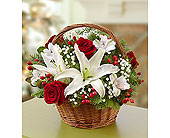 Fields Of Europe Christmas Basket in Yelm WA, Yelm Floral