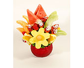 Fruit Arrangement with Lindor in Timmins ON, Timmins Flower Shop Inc.