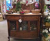 Buffet With Leaded Glass SOLD in Grand Rapids MN, Shaw Florists