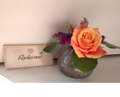 Rookwood Sophia vase arrangement in Cincinnati OH, Covent Garden Florist