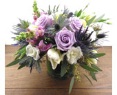 Lavender posy in North Vancouver BC, Special Moments Flowers And Gifts