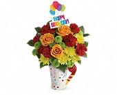 Teleflora's Fun 'n Festive Bouquet in Fort Worth TX, Greenwood Florist & Gifts