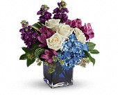 Teleflora's Portrait In Purple Bouquet in Riverside, California, Mullens Flowers