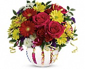 Teleflora's Special Celebration Bouquet in Hollywood FL, Al's Florist & Gifts