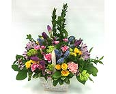 Basket Arrangement in Belleville ON, Live, Love and Laugh Flowers, Antiques and Gifts
