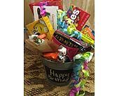 Happy Birthday Junk Food Bucket in Smyrna GA, Floral Creations Florist