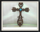 Turquoise Cross in Tyler TX, The Flower Box