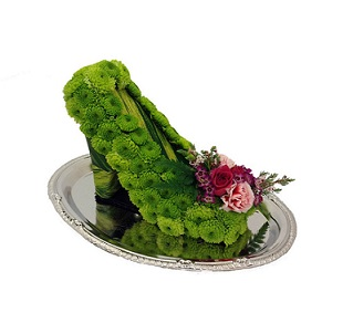 Floralista High Heel Shoe in Stuart FL, Harbour Bay Florist