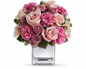 Teleflora's Treasure Her Bouquet in Edmonton AB, Petals For Less Ltd.