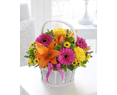 Mother's Day Mixed Basket Arrangement in Creston BC, Morris Flowers & Greenhouses