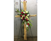 Bamboo cross in Melbourne FL, Paradise Beach Florist & Gifts