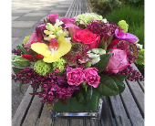 SUMMER IN LONDON BOUQUET  in Bellevue WA, CITY FLOWERS, INC.