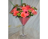 Flower Martini in Honolulu HI, Sweet Leilani Flower Shop