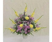 Pedestal Basket Assorted in Huntington WV, Spurlock's Flowers & Greenhouses, Inc.