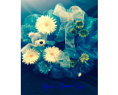 BABY WREATH FOR BABY BOY in Anchorage AK, Alaska Flower Shop