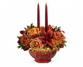 Teleflora's Bounty Of Beauty Centerpiece in Katy TX, Kay-Tee Florist on Mason Road