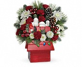 Snoopy's Cookie Jar by Teleflora in East Amherst NY, American Beauty Florists