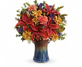 Teleflora's Country Artisan Bouquet in Lowell MA, Wood Bros Florist