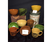 Rosanna Cafe Mugs and Comfort Food Bowls in Conway AR, Conways Classic Touch