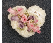 HEART FOR INSIDE CASKET in Woodbridge NJ, Floral Expressions